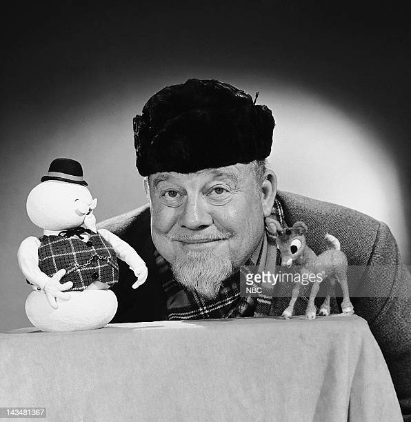 Sam the Snowman narrator Burl Ives Rudolph the RedNosed Reindeer