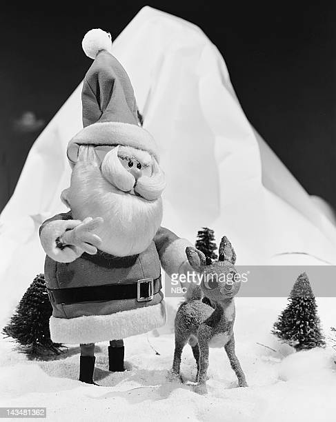 Santa Claus with Rudolph the RedNosed Reindeer