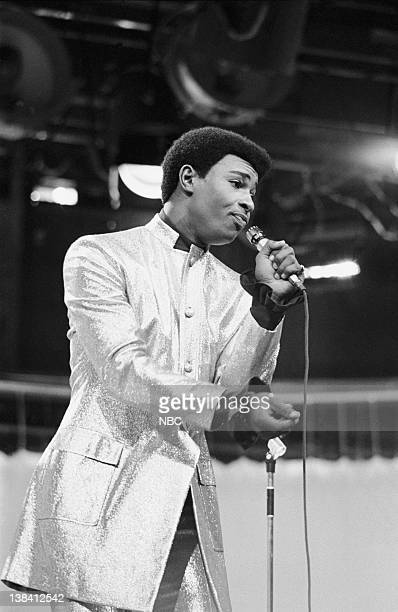 Aired 12/9/68 -- Pictured: Dennis Edwards of The Temptations