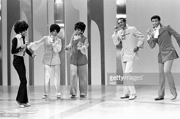 The Supremes and The Temptations Diana Ross Mary Wilson Cindy Birdsong Eddie Kendricks Dennis Edwards