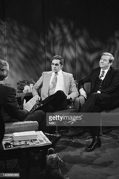 Penthouse magazine publisher Bob Guccione televangelist Jerry Falwell Photo by NBCU Photo Bank
