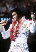 Aired 4473 pictured elvis presley during a live performance at in picture id138463874?s=170x170
