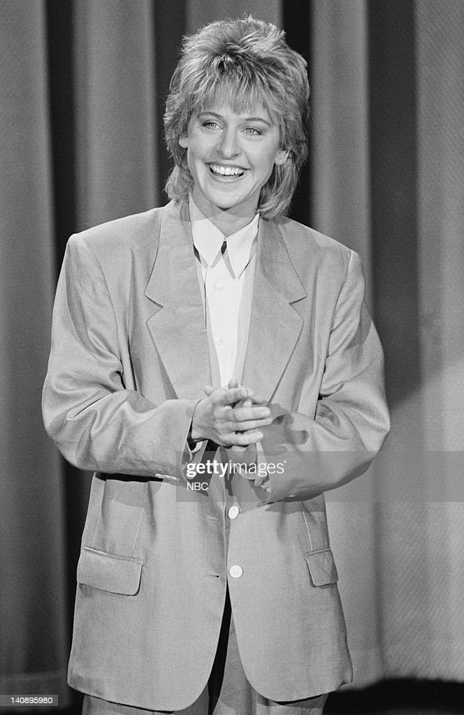 Ellen presents the mullet back in 1987.