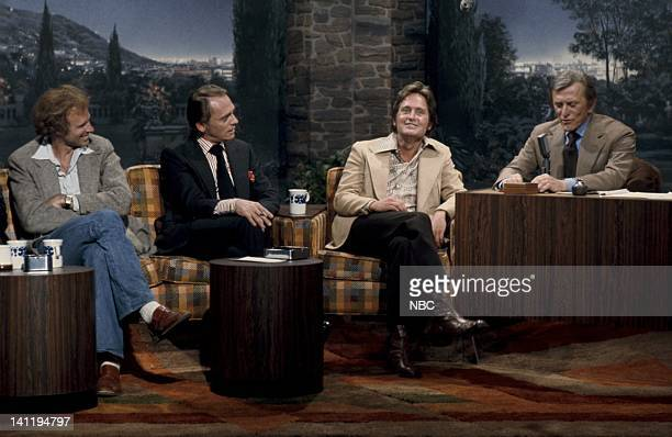 Actor Bruce Dern Actor Frank Gorshin actor Michael Douglas Guest host/actor Kirk Douglas Photo by Fred Sabine/NBCU Photo Bank