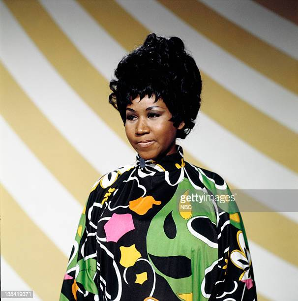 Aired 5/4/69 -- Pictured: Aretha Franklin