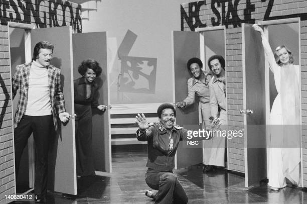 Robert Goulet Gladys Knight Merald Bubba Knight Edward Patton William Guest Sally Kellerman Photo by Paul W Bailey/NBCU Photo Bank