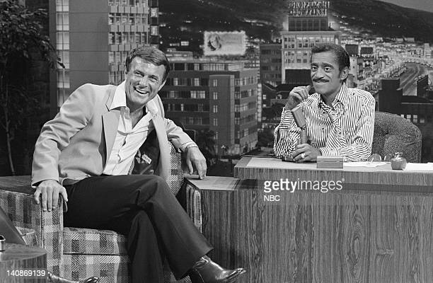 Actor Robert Conrad during an interview with guest host Sammy Davis Jr on July 23 1979 Photo by Frank Carroll/NBCU Photo Bank