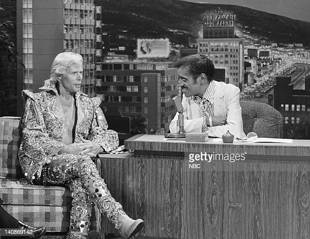 Aired 7/23/79 -- Pictured: Circus performer Gunther Gebel-Williams during an interview with guest host Sammy Davis Jr. On July 23, 1979 -- Photo by:...