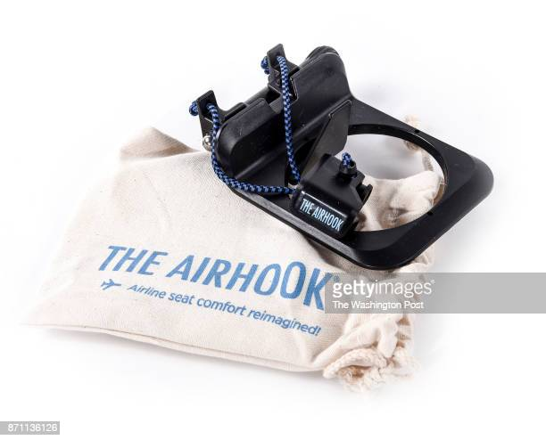 Airhook for airline seat backs one of the items for the Post's annual gift guide on October 2017 in Washington DC
