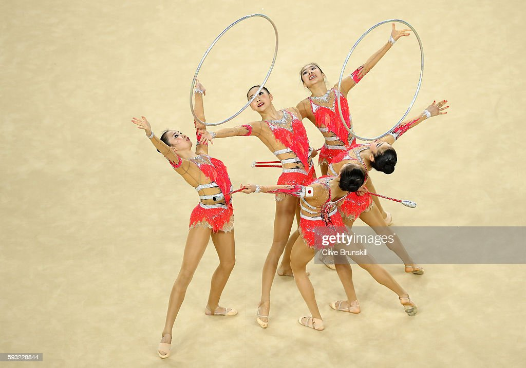 Gymnastics - Rhythmic - Olympics: Day 16 : News Photo