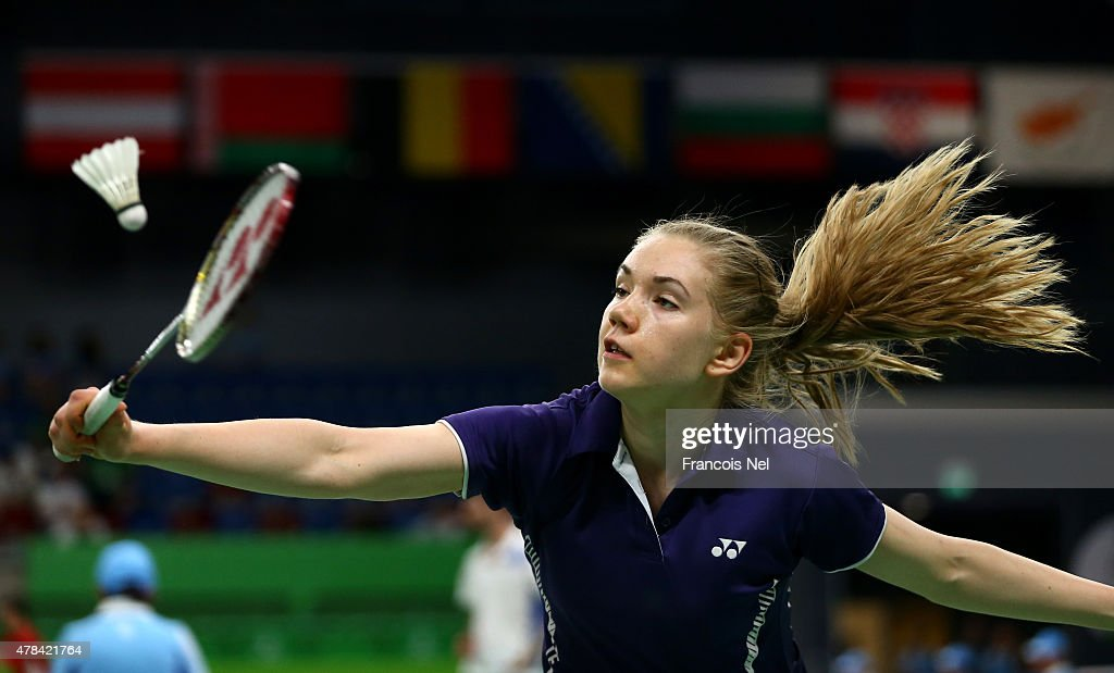 Badminton Day 13: Baku 2015 - 1st European Games : News Photo