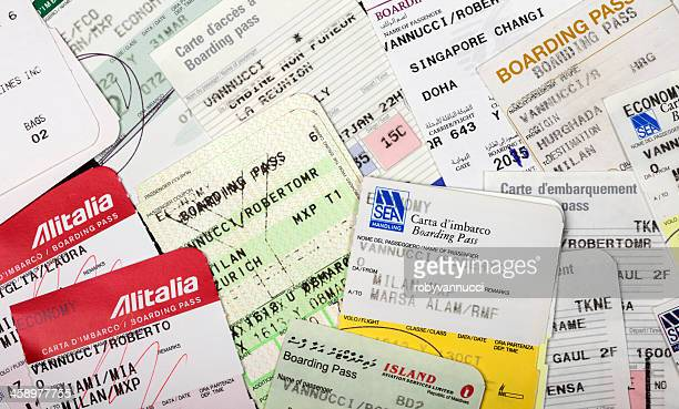 Airline Boarding passes collection