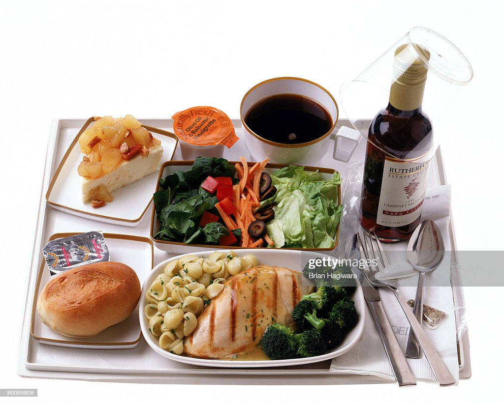 Airline food : Stock Photo