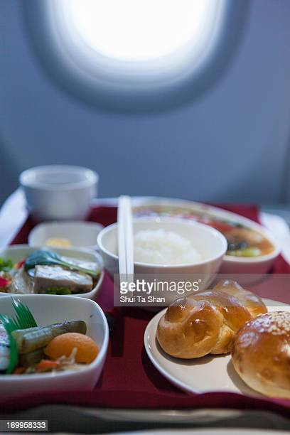 Airline meal, business class