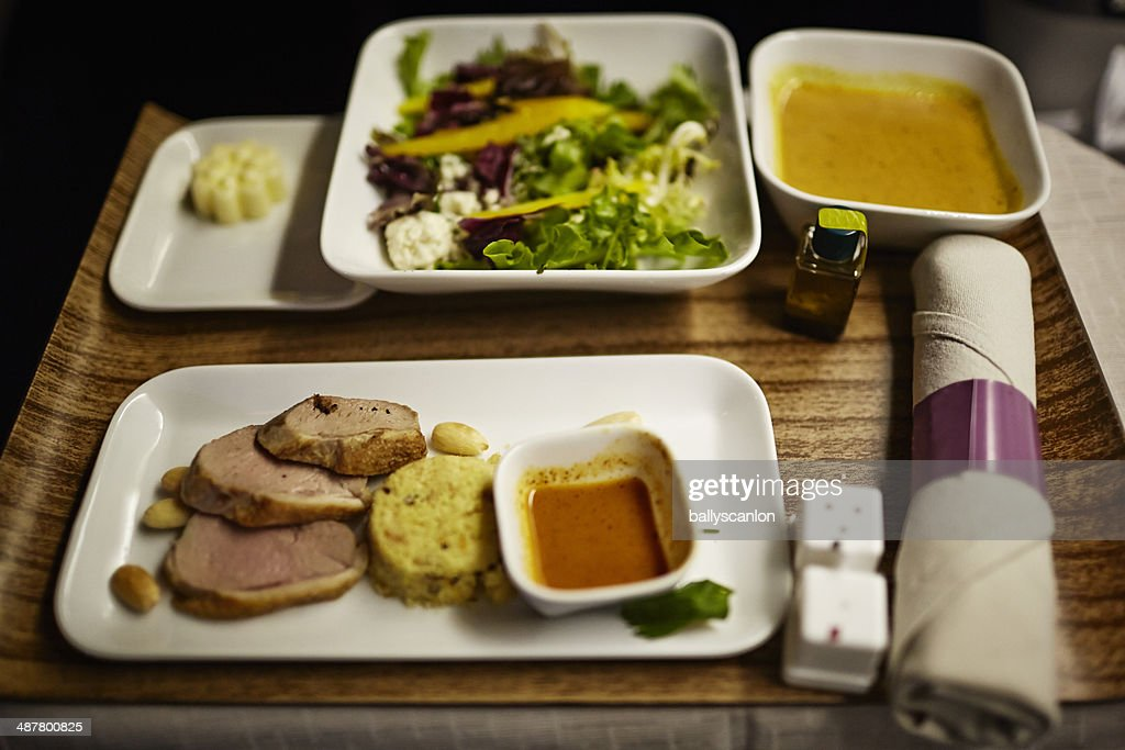 Airline Meal : Stock Photo