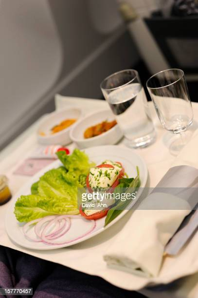Airline Meal served in the Prestige Class
