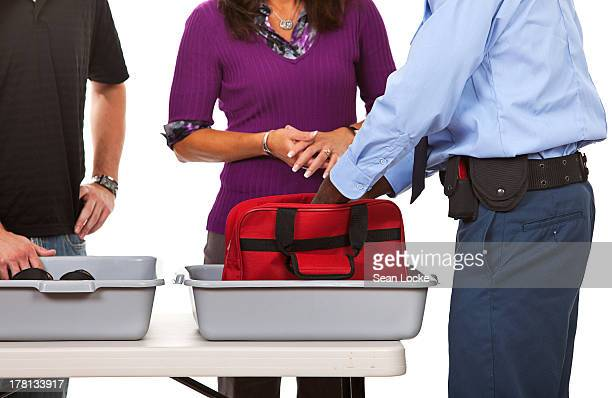Airline: Security Search of Bag