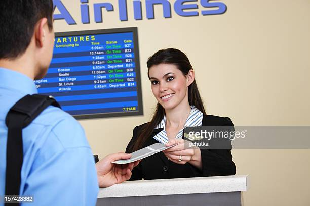 Airline Ticket Counter