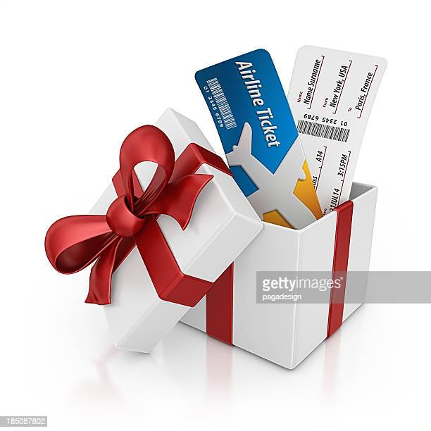 Flugtickets Geschenk