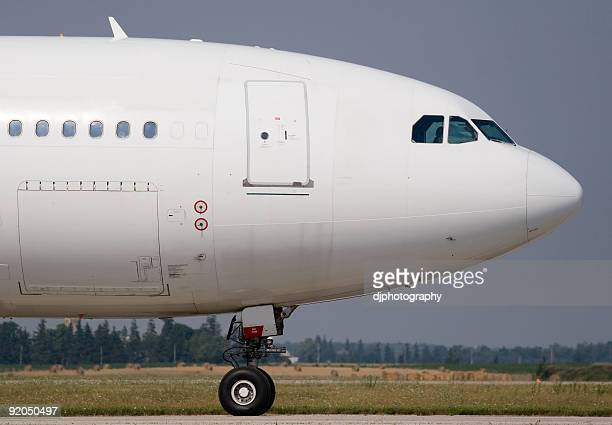 airliner - fuselage stock photos and pictures