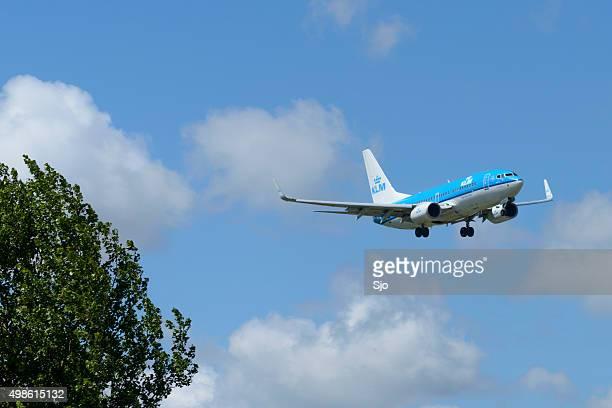 KLM Airlines Boeing 737 airplane