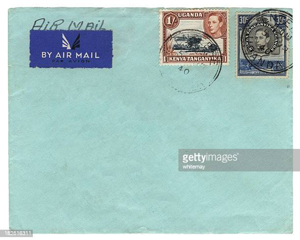 Airmail envelope from Kenya-Uganda-Tanganyika 1940