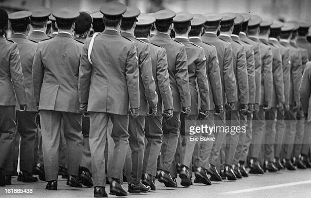 111982 Airmen from Lowry Air Force Base provided a uniform platoon in the Veterand's Day parade