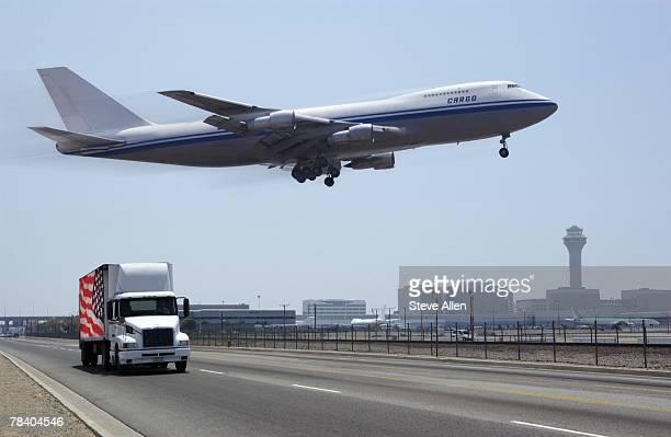 Airplane and semi