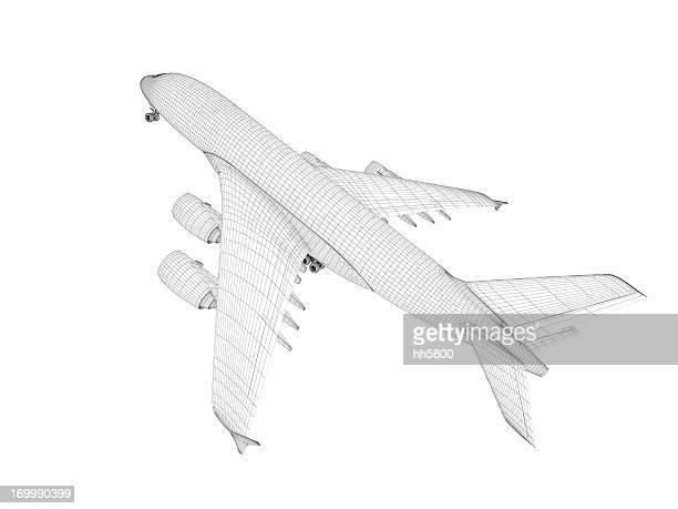 Avião arquitetura Cópia Heliográfica