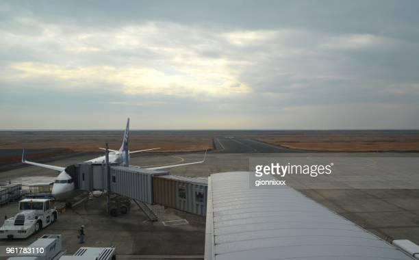 佐賀空港、九州飛行機 - 佐賀県 ストックフォトと画像