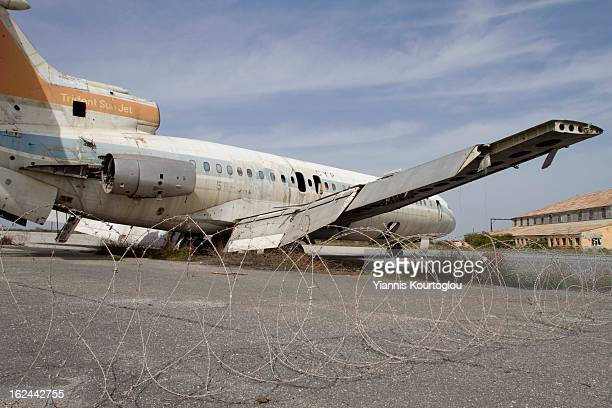 CONTENT] Airplane at the abandoned airport of NicosiaThe airport was closed after the Turkish invasion in 1974 Now is the headquarters of United...