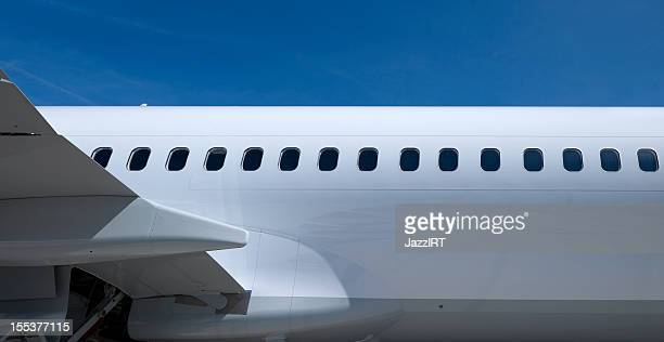 airplane body - porthole stock photos and pictures