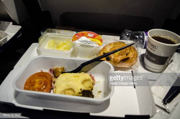 Airplane breakfast