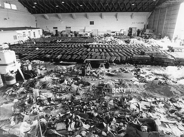 airplane catastrophe in Teneriffa crash of two Boeing 747 March 1977