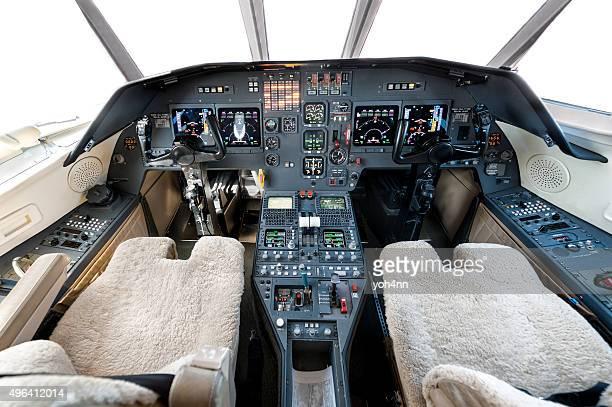 飛行機のコックピット - ボーイング ストックフォトと画像
