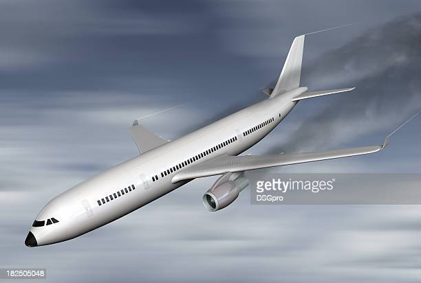 airplane crash - airplane crash stock pictures, royalty-free photos & images