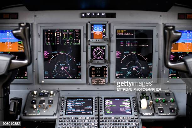 airplane dashboard - cockpit stock pictures, royalty-free photos & images