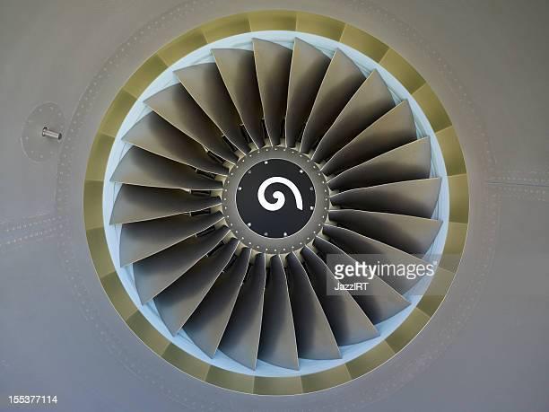 Flugzeug-Motor