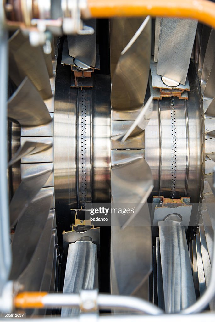 airplane engine : Stock Photo