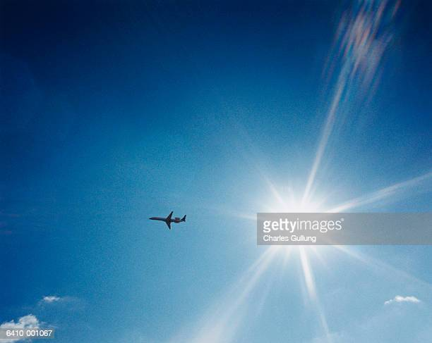 Airplane in Clear Sky