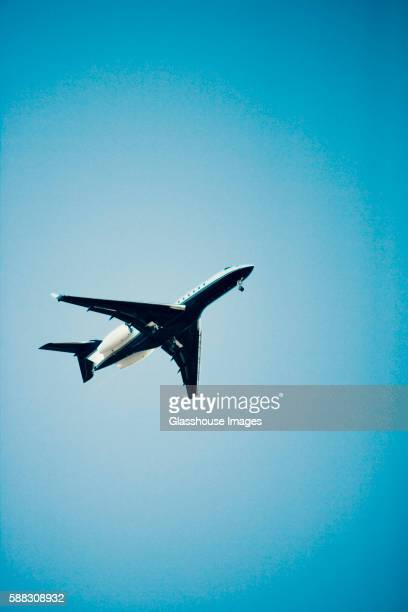 Airplane in Flight, Low Angle View
