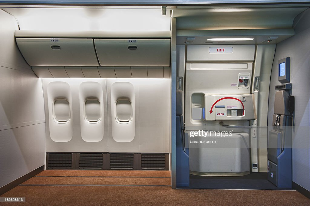 Airplane interior : Stockfoto