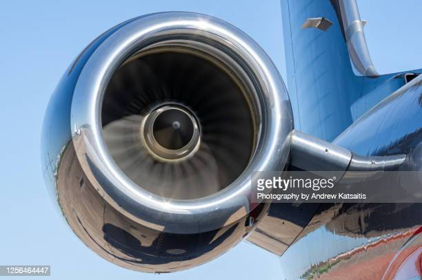 airplane jet engine in motion - motion stock pictures, royalty-free photos & images