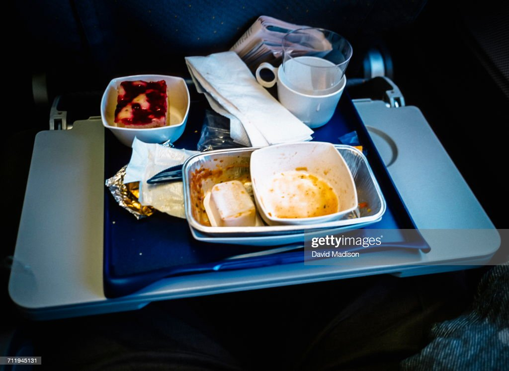 Airplane Meal : Stock Photo