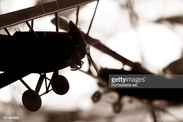 Airplane Model Silhouette