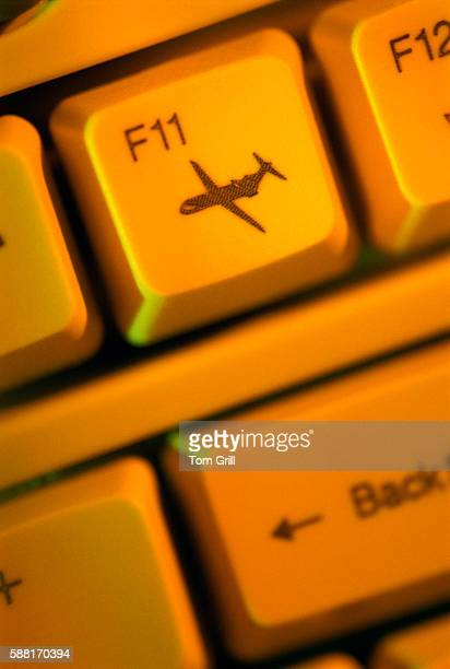 Airplane Keyboard Symbol Stock Photos And Pictures Getty Images