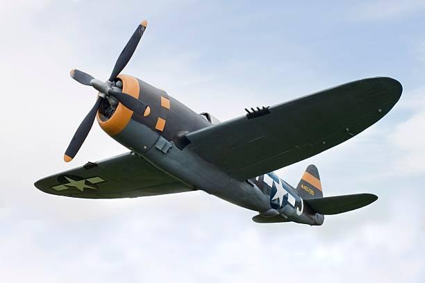 Airplane P-47 Thunderbolt from World War II