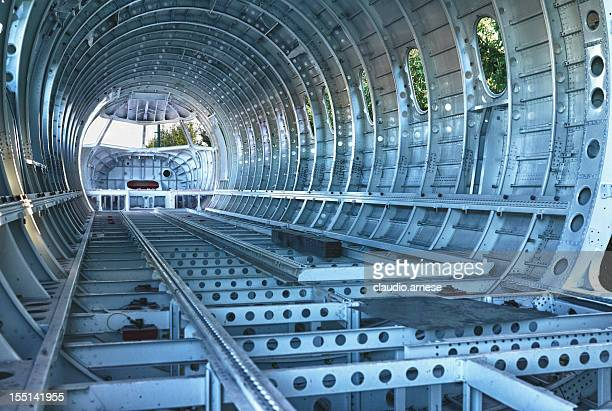 airplane part. color image - aircraft stock photos and pictures