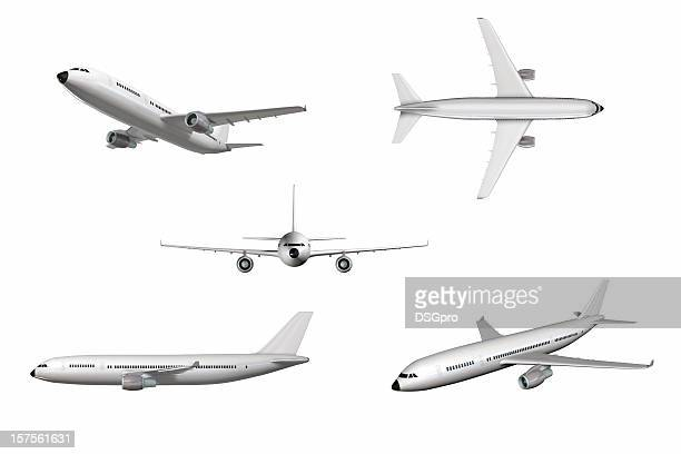 airplane - aeroplane stock pictures, royalty-free photos & images