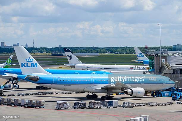 KLM airplane